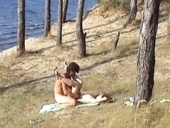 Yeah, we like spending time jointly, there is no thing strange about it. We are not solely the hawt amateur pair, we are loving people so this day we are going to spend the day solely with each other and nobody else. We go to the bank of the lake and my sexy girlfriend demonstrates me her fresh bikini. It's worthwhile, but I must confess that babe looks much more excellent out of it. I and my GF bathe in the nifty water, get suntanned all exposed and then heavily fuck getting the recent sex experience. Our camera discharges anything on this pair sex movie scene.