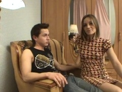 Bright and stunning orgasms award legal age teenager sweetheart during a sexy fuck
