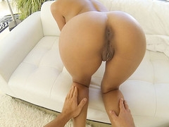 Tan hotty gets fucked